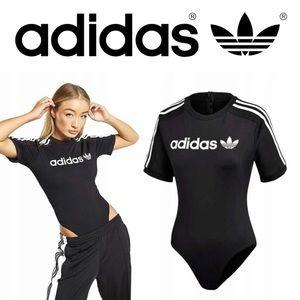 Adidas Originals 3 Stripes Ringer Tee Bodysuit